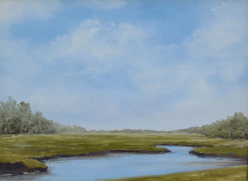 14567 Summer Marsh 9 x 12