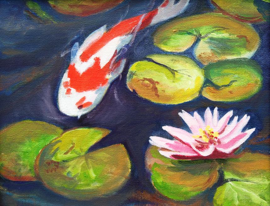 Koi-Fish-Lilies-860