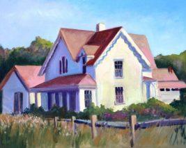 Wellfleet Bay House - Elaine Lobay