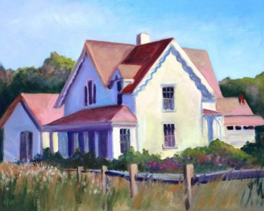 Wellfleet Bay House by Elaine Lobay