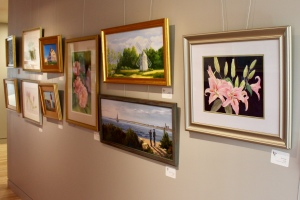 Eastham Public Library art exhibit