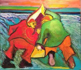 Surf Men-Into the Waves - Ron Edson