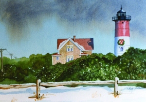 Nauset Light Christmas